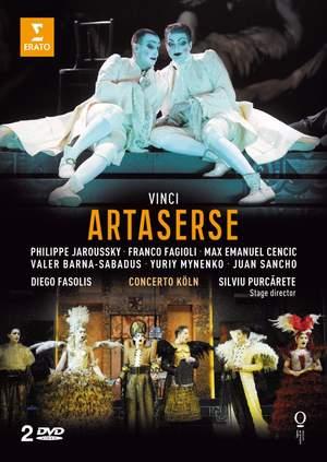 Vinci, Leonardo: Artaserse