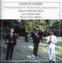 Cambini: Trios (6) for flute, oboe and bassoon, Op. 45