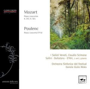 Mozart: Concertos for 3 & 2 pianos and Poulenc: Concerto for 2 pianos