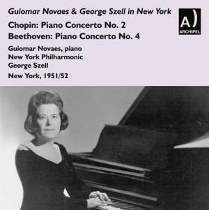 Guiomar Novaes and George Szell in New York
