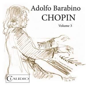 Adolfo Barabino plays Chopin Vol. 3