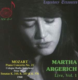 Martha Argerich Vol. 1 - Mozart Piano Sonatas