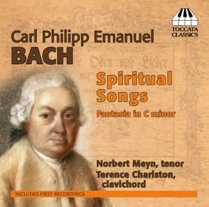 CPE Bach: Spiritual Songs