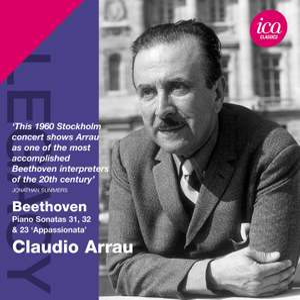 Claudio Arrau plays Beethoven Piano Sonatas Product Image