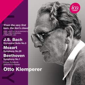Otto Klemperer conducts Beethoven, Mozart & Bach Product Image