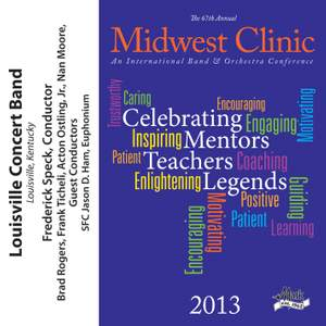 2013 Midwest Clinic: Louisville Concert Band Product Image