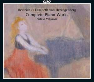 H. von Herzogenberg & E. von Herzogenberg: Complete Piano Works