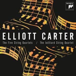 Elliott Carter: The Five String Quartets Product Image