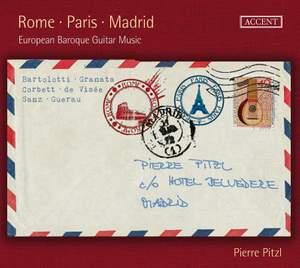 Rome - Paris - Madrid: European Baroque Guitar Music