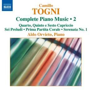 Togni: Complete Piano Music Volume 2