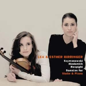 Szymanowski, Hindemith & Respighi: Violin Sonatas Product Image