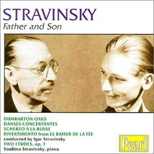 Stravinsky - Father & Son