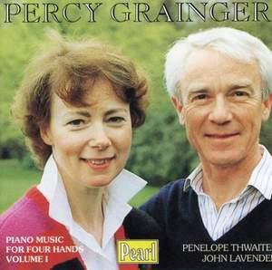 Percy Grainger - Piano Music for Four Hands I (Thwaites/Lavender)
