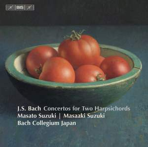 JS Bach: Concertos for Two Harpsichords