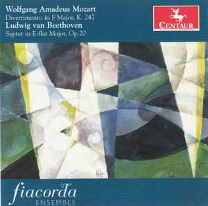 Mozart: Divertimento in F Major & Beethoven: Clarinet Trio in E flat major