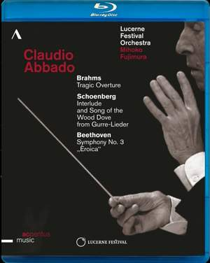 Claudio Abbado conducts Brahms, Schoenberg & Beethoven Product Image