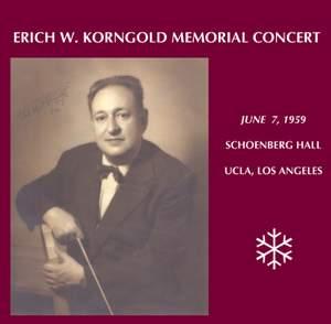 Korngold Memorial Concert (1959)