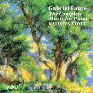 Fauré: The Complete Music for Piano Product Image