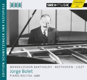 Jorge Bolet plays Mendelssohn, Liszt and Beethoven