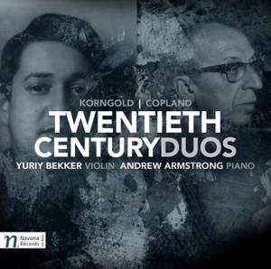 Twentieth Century Duos: Korngold & Copland