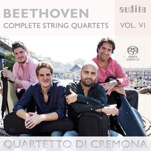 Beethoven: Complete String Quartets Volume 6 Product Image