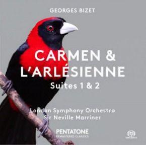 Bizet: Carmen & L'Arlésienne Suites 1 & 2