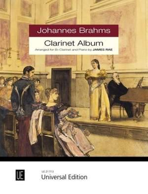 Brahms, J: Clarinet Album