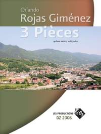 Orlando Rojas Giménez: 3 Pièces