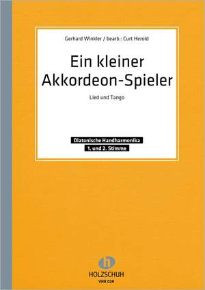 Gerhard Winkler: Ein kleiner Akkordeonspieler