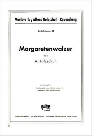 Alfons Holzschuh: Margaretenwalzer