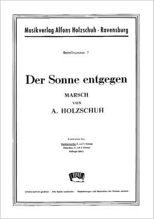 Alfons Holzschuh: Der Sonne Entgegen
