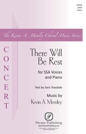Sara Teasdale_Kevin A. Memley: There Will Be Rest
