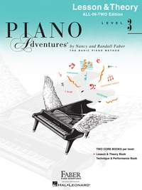 Nancy Faber_Randall Faber: Piano Adventures All-In-Two Level 3 Lesson/Theory