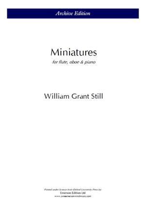 Still, W.G: Miniatures