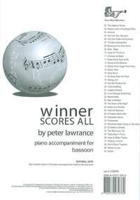 Winner Scores All Piano Accompaniment for Bassoon
