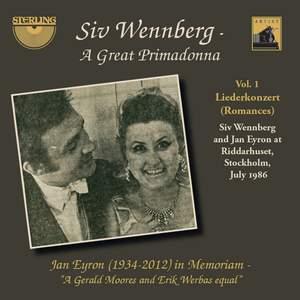 Siv Wennberg: A Great Primadonna, Vol. 1