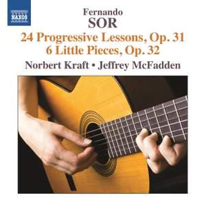 Sor: 24 Progressive Lessons, Op. 31