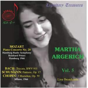 Martha Argerich Vol. 5 - Mozart, Bach, Schumann & Chopin