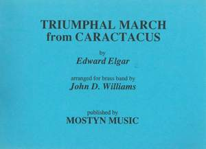 Triumphal March from Caractacus, score only