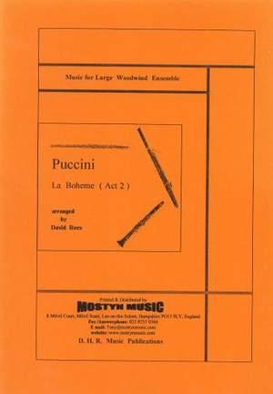 La Boheme, Scenes from Act 2, score only