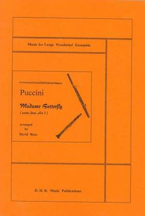 Madame Butterfly, Scenes from Act 1, score only