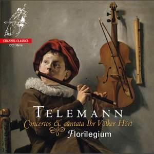 Telemann: Concertos & Cantata Ihr Völker Hört Product Image