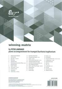 Winning Matrix Piano Accompaniment for Trumpet/Baritone/Euphonium