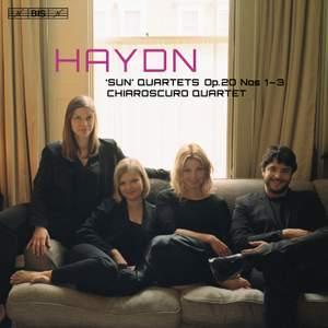 Haydn: 'Sun' Quartets Op.20, Nos. 1-3 (Vol. 1)