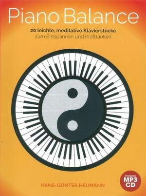 Hans-Günter Heumann: Piano Balance - 20 Easy And Meditative Songs Product Image