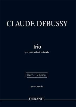 Claude Debussy: Trio pour piano, violon et violoncelle Product Image