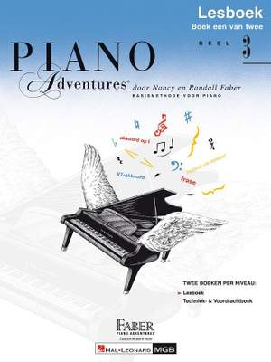 Nancy Faber_Randall Faber: Piano Adventures: Lesboek Deel 3 Product Image