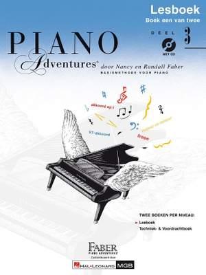 Nancy Faber_Randall Faber: Piano Adventures: Lesboek Deel 3 +CD Product Image