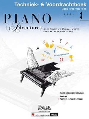 Nancy Faber_Randall Faber: Piano Adventures Techniek- & Voordrachtboek Deel 3