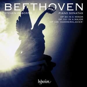 Beethoven: Piano Sonatas Opp 90, 101 & 106 Product Image